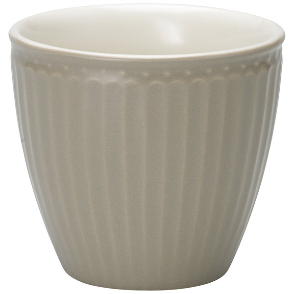 GreenGate Latte Cup Alice Warm Grey