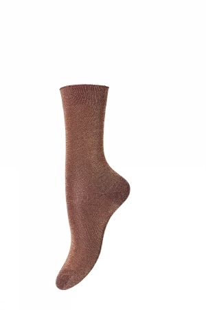 mp Denmark Glitzersocken Pernille Dark Honey