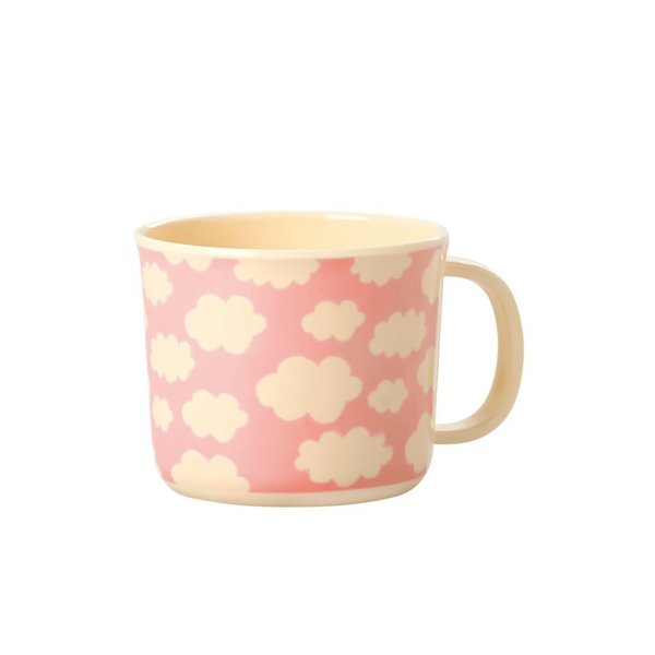 Rice Melamin Babytasse Cloud Pink